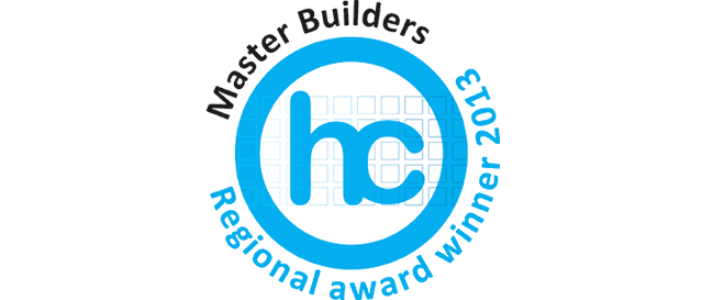 Master Builders Housing & Construction Regional Award winner 2013