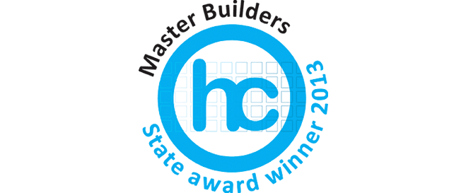 Master Builders Housing & Construction State Award winner 2013